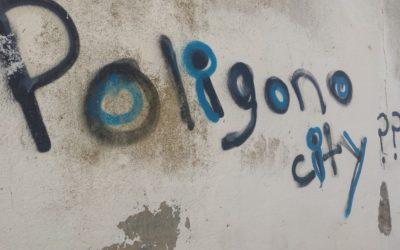 Grafitis por San Jerónimo