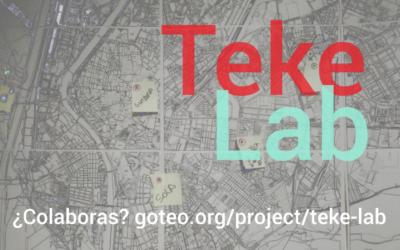 ¿Nos ayudas con Teke Lab?